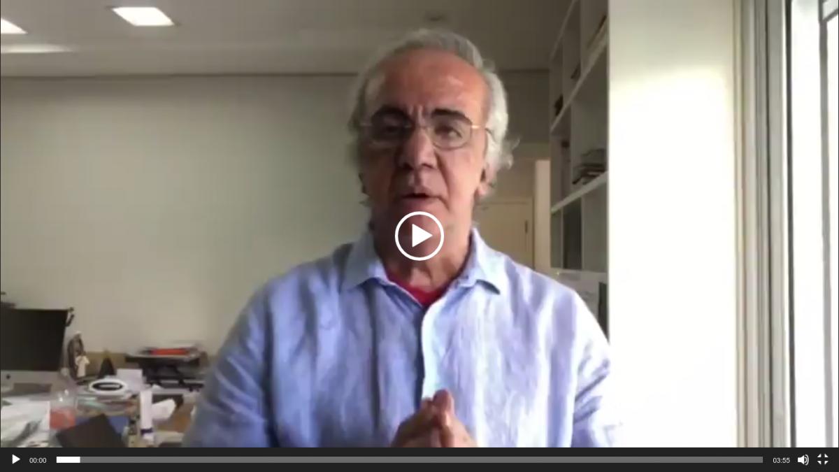 Mensagem do professor Boulos